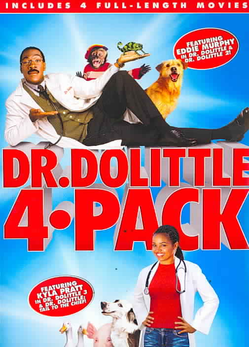 DR DOLITTLE 4 PACK BY MURPHY,EDDIE (DVD)